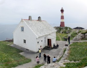 Listening to some lighthouse history